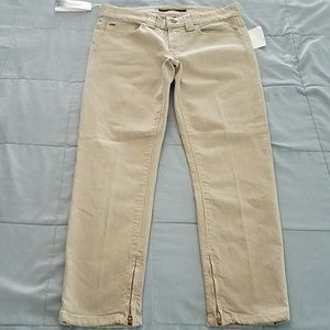 JOES SIDE ZIPPER ANKLE PANT. SIZE 27/4
